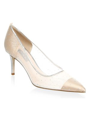 SJP BY SARAH JESSICA PARKER Glass Leather Suede Pumps