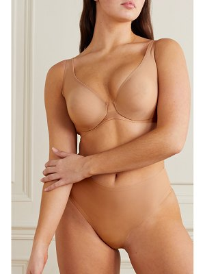 SKIMS naked plunge bra - honey