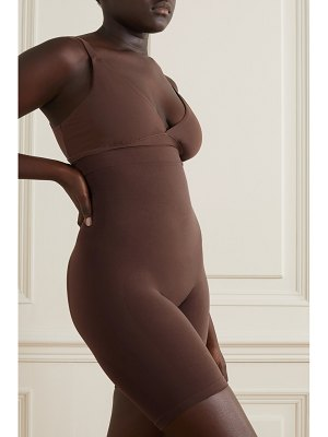 SKIMS seamless sculpt sculpting mid thigh shorts - cocoa