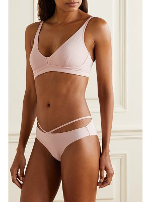 SKIN gracelynne stretch-organic pima cotton-jersey soft-cup bra
