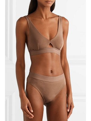 SKIN harley stretch organic pima cotton-jersey thong