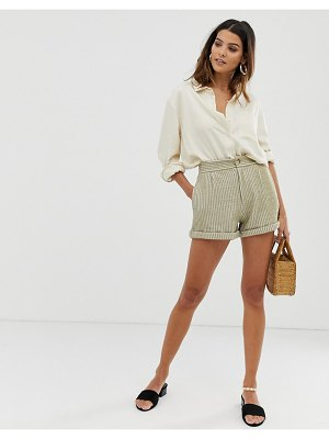 Skylar Rose cord high waist shorts