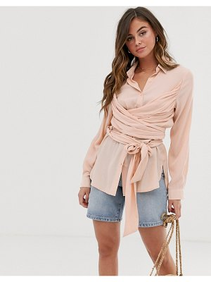 Skylar Rose shirt with wrap ties