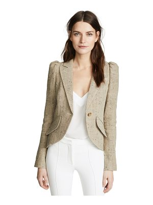 Smythe pouf sleeve one button blazer