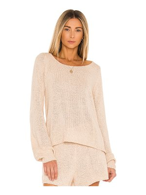SNDYS lounge celeste knit sweater