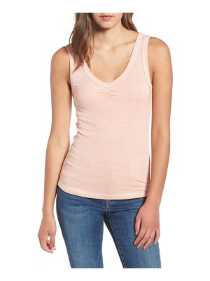 Socialite cinch neck tank