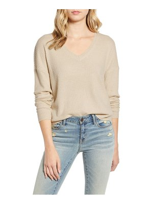 Socialite drop shoulder thermal top