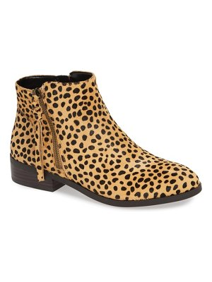 Sole Society abbott genuine calf hair bootie