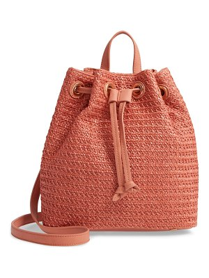 Sole Society apryl woven backpack