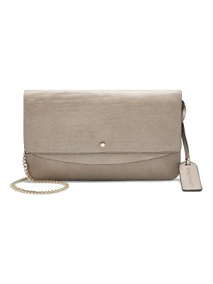 Sole Society beryl faux leather clutch
