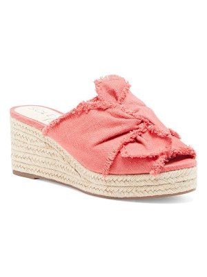 Sole Society carima espadrille wedge