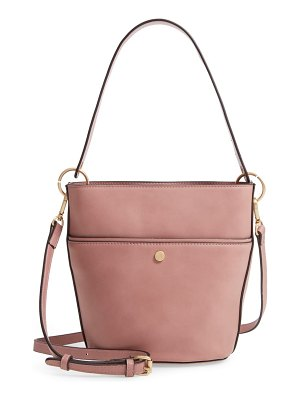 Sole Society faux leather bucket bag