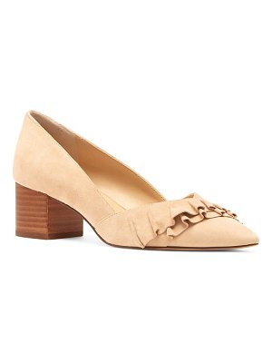 Sole Society karysa ruffle pointed toe pump
