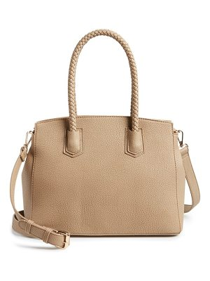SOLE SOCIETY Lexington Faux Leather Satchel