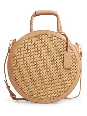 Sole Society nikole faux leather circle tote