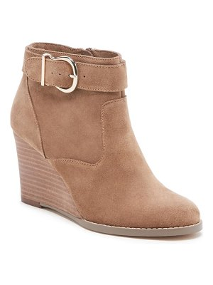 Sole Society peytal wedge bootie