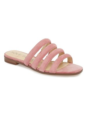 Sole Society saxten strappy slide sandal
