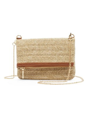 Sole Society straw belt bag