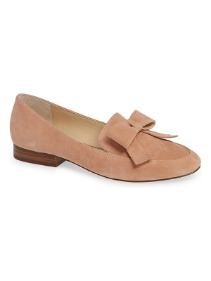 Sole Society tannse bow loafer