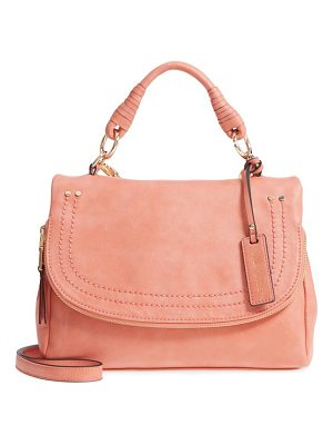 SOLE SOCIETY Top Handle Faux Leather Crossbody Bag