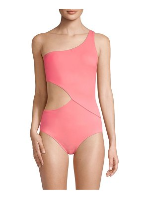 Solid and Striped the claudia one-shoulder swimsuit