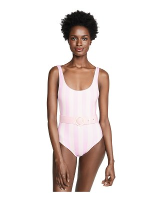 Solid & Striped the anne-marie one piece swimsuit with belt