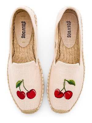 Soludos Cherries Smoking Slipper