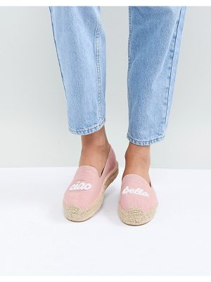 Soludos dusty rose ciao bella espadrilles
