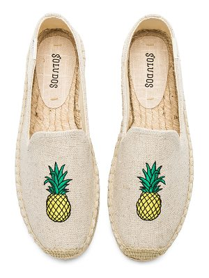 Soludos Pineapple Smoking Slipper