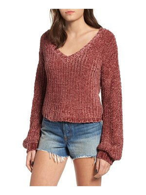 Somedays Lovin sweet skies chenille sweater