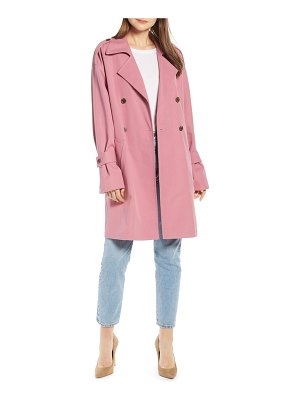 Something Navy easy oversize trench