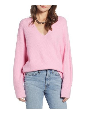 Something Navy low neckline slouchy pullover