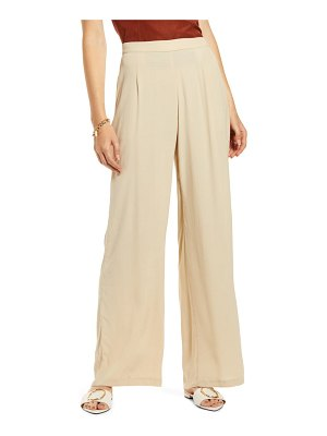 Something Navy relaxed wide leg pants