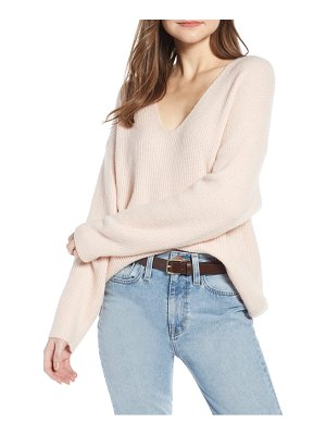 Something Navy v-neck sweater