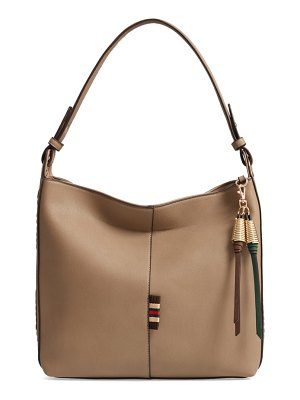 Sondra Roberts faux leather hobo