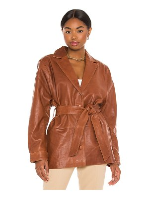 Song of Style bennie leather jacket