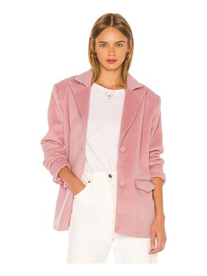 Song of Style dahlia blazer