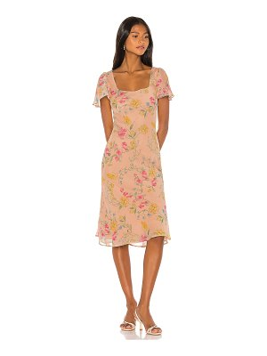 Song of Style maceo midi dress