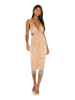 Song of Style russell midi dress