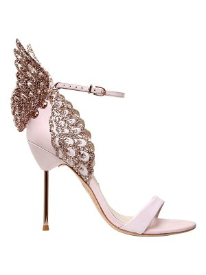 Sophia Webster 100mm evangeline wing leather sandals