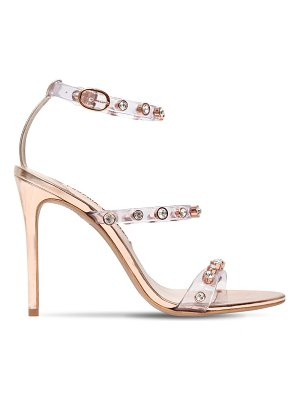 Sophia Webster 110mm rosalind gem pvc & leather sandals