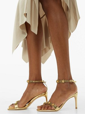 Sophia Webster aaliyah crystal-embellished leather sandals