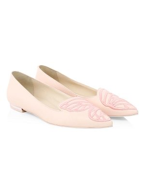 Sophia Webster bibi butterfly leather ballet flats