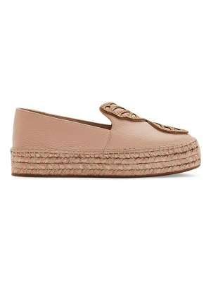Sophia Webster bibi butterfly leather espadrilles