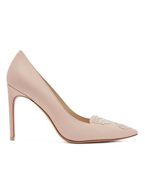 Sophia Webster Bibi Butterfly leather pumps