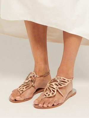 Sophia Webster bibi butterfly leather sandals