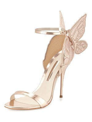 Sophia Webster Chiara Butterfly Wing Ankle-Wrap Sandals