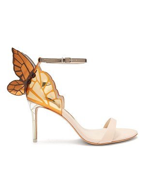 Sophia Webster Chiara Butterfly Wing Leather Sandals