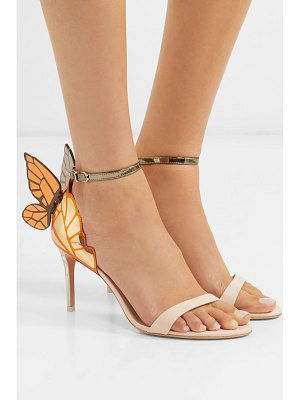 Sophia Webster chiara metallic leather sandals