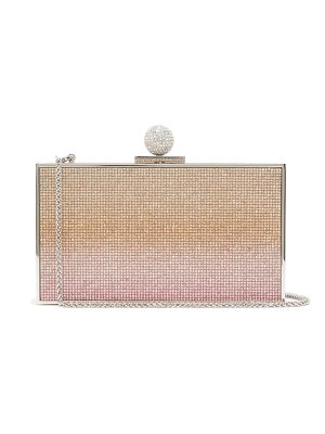 Sophia Webster clara crystal-embellished box clutch